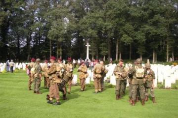 Airborne Wandelmars Oosterbeek 2011